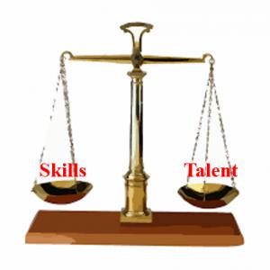 skills vs talent