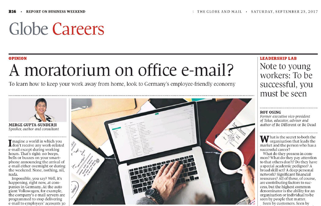 A moratorium on office e-mail?