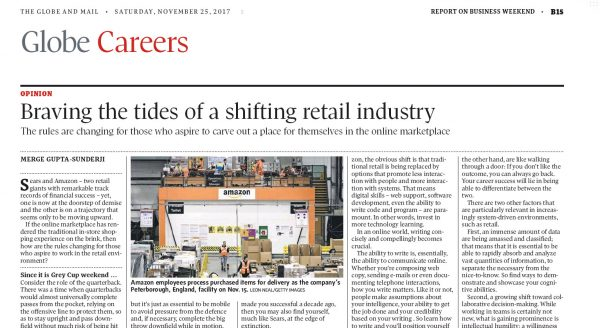 Braving the tides of a shifting retail industry