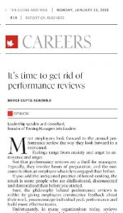 Time to get rid of the performance review